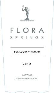 Flora Springs Soliloquay Vineyard 2012
