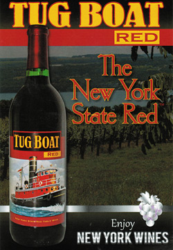 Tug Boat Red Wine