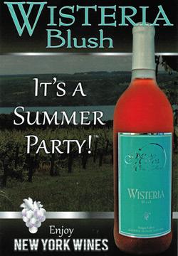 Wisteria Blush Wine