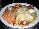 Tijuana Taxi Co Enchilada Platter