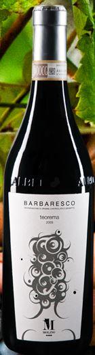 Barbaresco Teorema DOCG 2011 Argricola Molino Piedmont