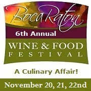 6th Annual Boca Wine and Food Festival