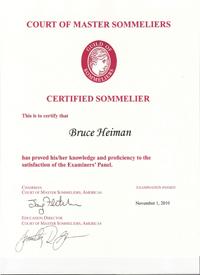 2018 South Florida Sommelier Certification Online Classes