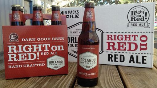 Orlando Brewing Right On Red